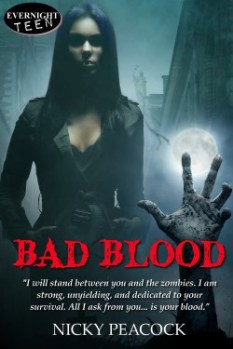 Vampires VS Zombies - It's TrueBlood meets The Walking Dead for teen readers and up.